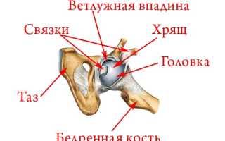 Тазобедренный сустав болит симптомы лечение