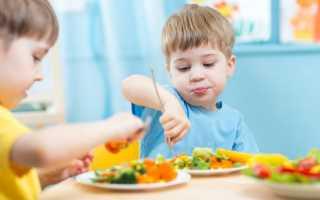 Питание детей аллергией детском саду
