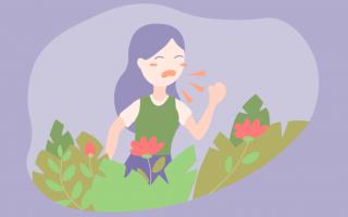 Сезонная аллергия весной лечение
