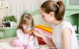 Лечение мокрого кашля годовалого ребенка народные средства