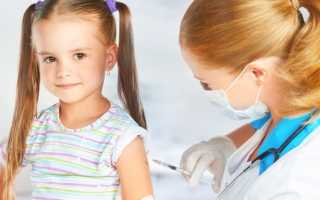 Прививка в попу в 6 лет