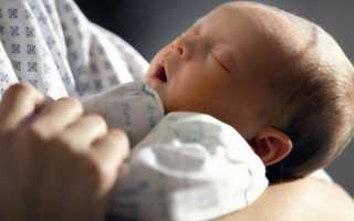 Бронхит у 7 месячного ребенка симптомы