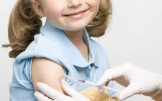 6 Лет первые прививки
