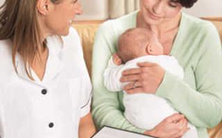 Аллергия детей первого года жизни