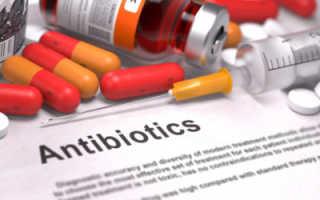 Какие антибиотики принимать при геморрое
