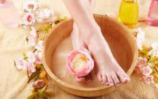 Ванночки для ног против грибка