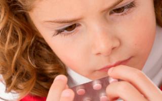 Какие таблетки можно давать ребенку 10 лет