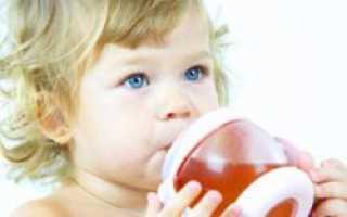 Со скольки месяцев можно давать ребенку компот
