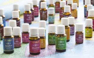 Эфирные масла запаха пота