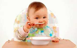 С какого возраста можно давать ребенку прикорм