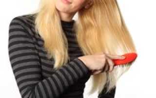 Расчесывание волос с эфирными маслами