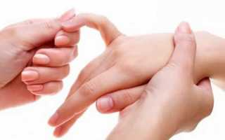 Немеет мизинец на правой руке причины лечение