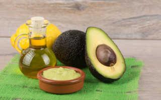 Косметическое масло авокадо свойства применение