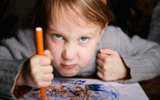 Нервное расстройство детей симптомы