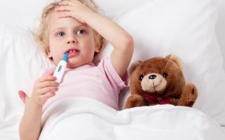 Аналитическая смесь от температуры детям в таблетках