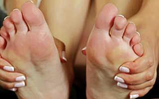 Пекут ноги причина лечения