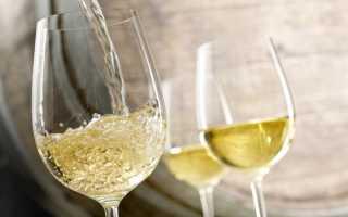 Польза и вред белого сухого вина