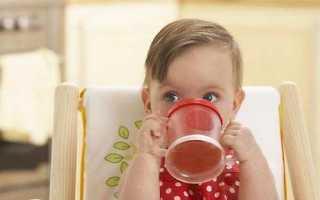 Можно ли чай месячному ребенку